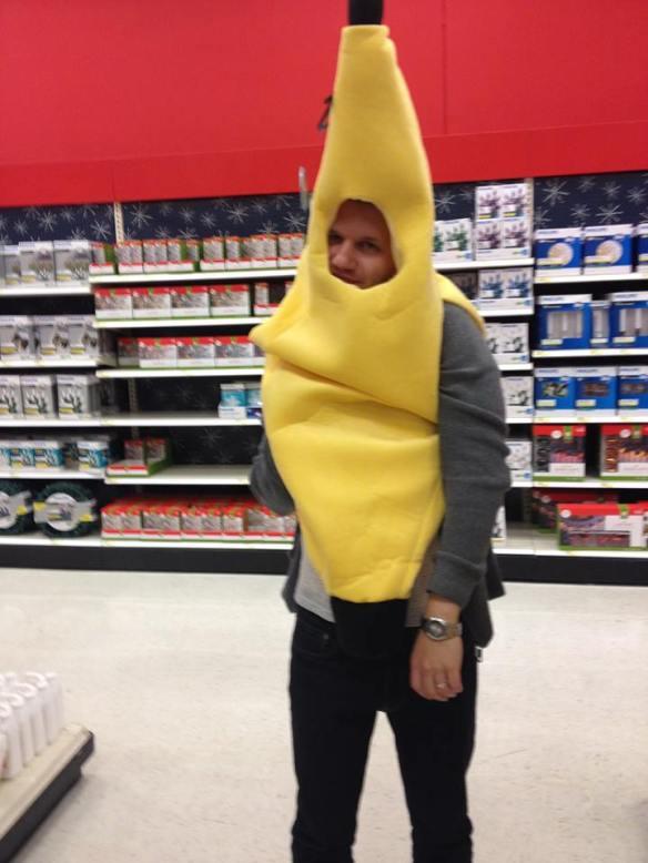 banana costume, banana