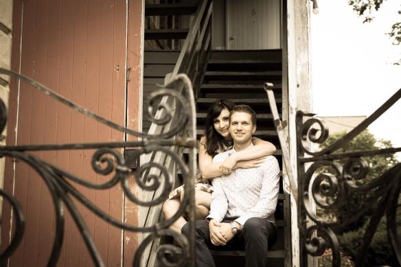 Jordan with wife