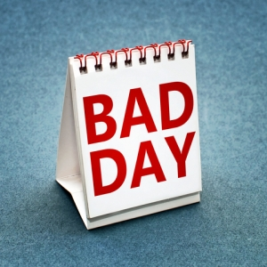 bad day, sign, bad day sign, Guy with Bow Tie